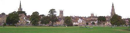 Stamford from the meadows